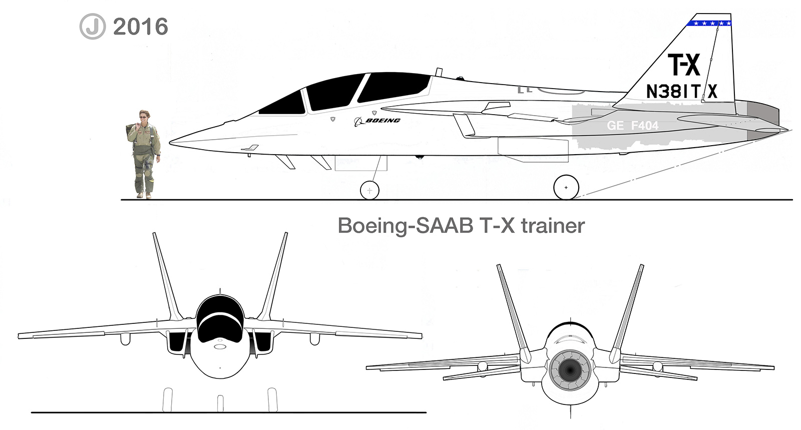 Boeing T X Trainer Aircraft