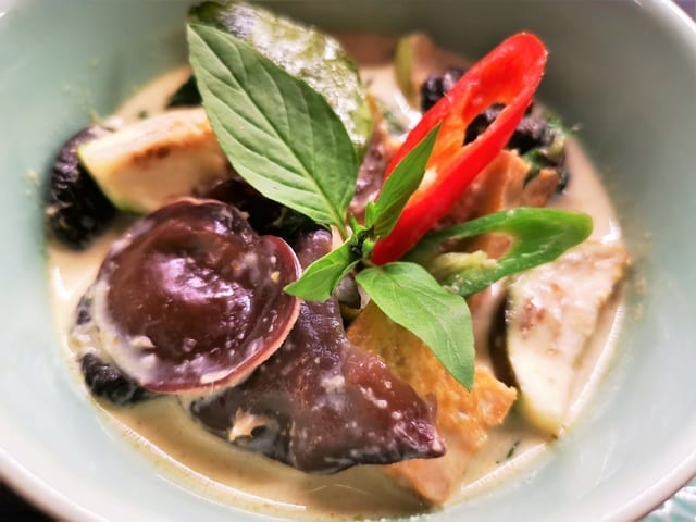 Gaeng khiew hwaan – grön currygryta