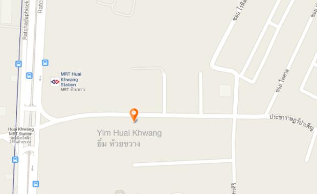 Yim Huai Khwang Map