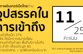 Freedom on the Net 2014 - Thailand - Access (11/25 points)