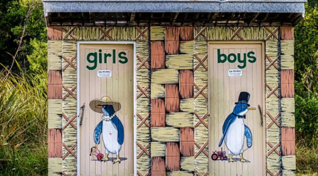 พาส่องห้องน้ำเก๋ ๆ ในนิวซีแลนด์