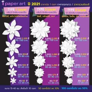 ราคาปลีก-ส่ง | ดอกไม้กระดาษ | แพทเทิร์นดอกไม้