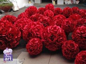 ดอกไม้กระดาษ อีเว้นท์ บอลดอกไม้