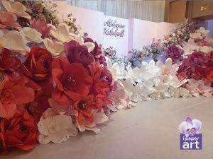 ดอกไม้กระดาษ จัดงานแต่ง