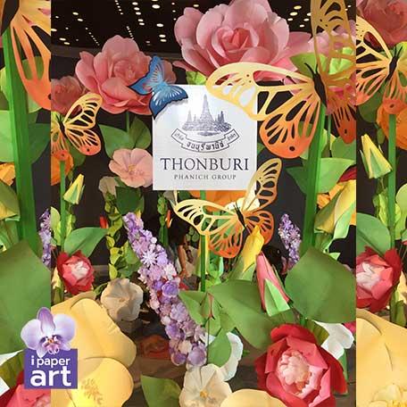 ดอกไม้กระดาษ ดอกไม้ประดิษฐ์ paper artificial flower wedding