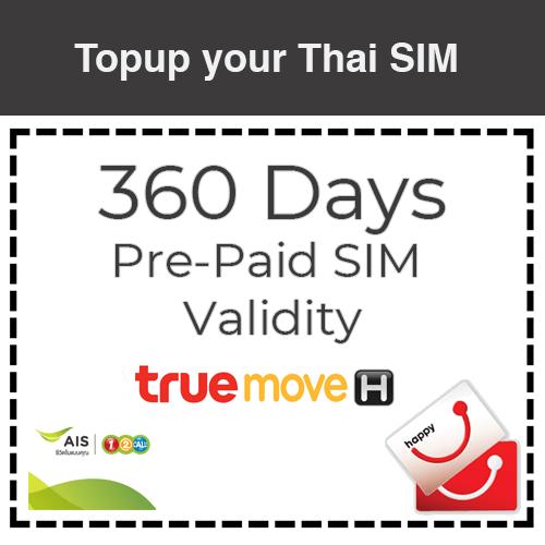 Add 360 sim validity