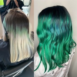 Hair color & haircut by hair stylist, Rachill Silvola