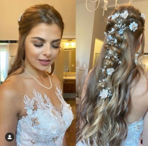 Formal style updo by hair stylist, Tori Brown