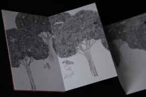 a dobra da floresta (detalhe)