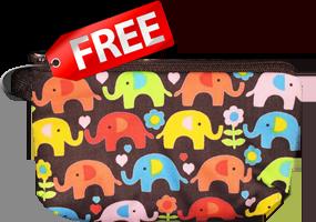 ThaiSims Pocket WiFi Free Gift Pocket Elephant Cute Thailand Best 4G Mobile Router Rental Souvenir