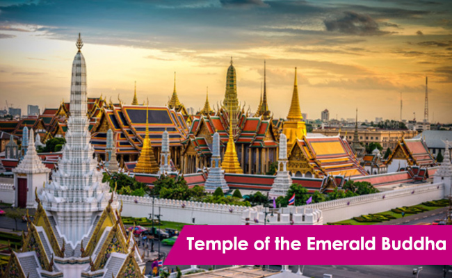 Temple of the Emerald Buddha Bangkok Thailand ThaiSims 4G Pocket WiFi Mobile Router Rental