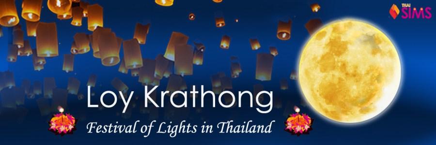 Loy Krathong Festival ThaiSims Pocket WiFi