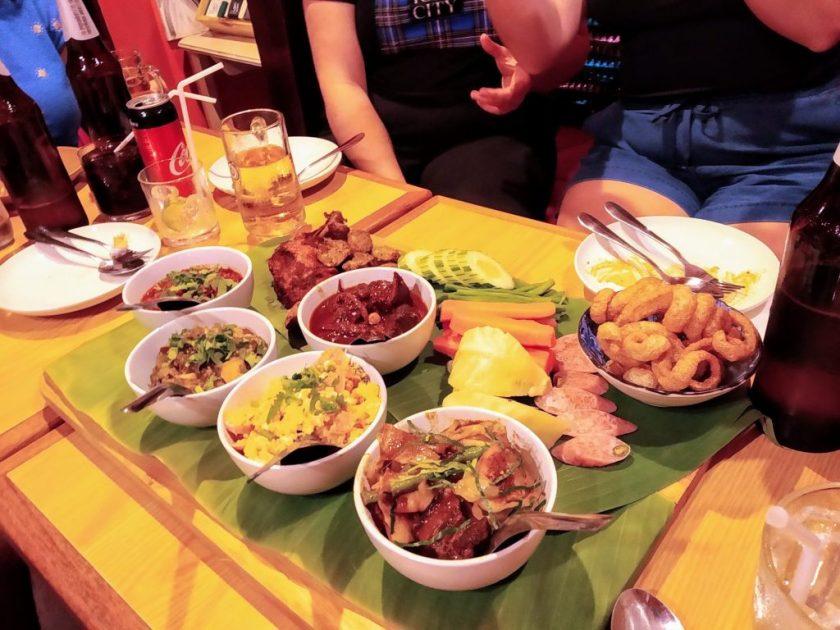 living in bangkok street food