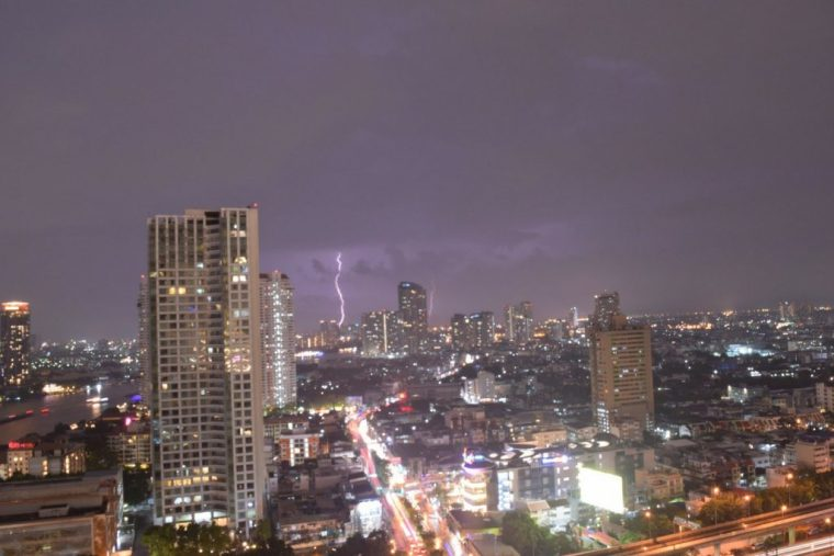 bangkok storm rainy season