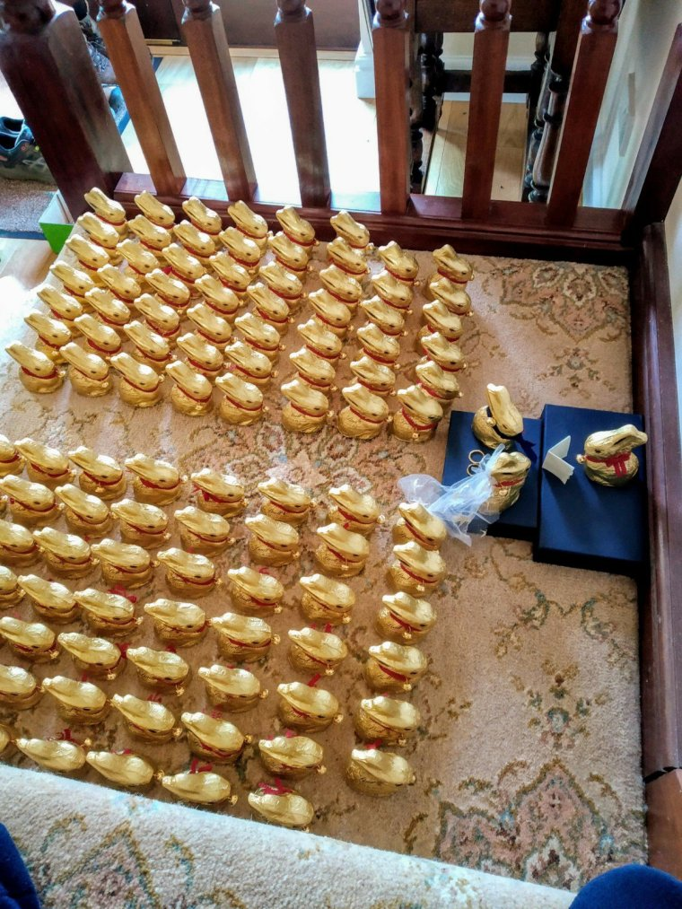 Updated: a tale of 115 Lindt bunnies 3