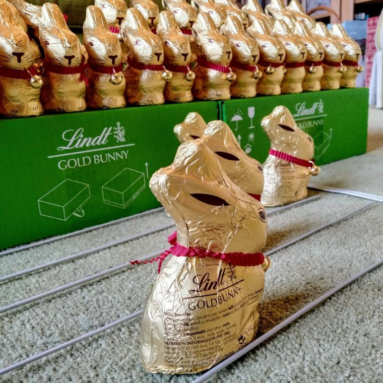 Updated: a tale of 115 Lindt bunnies 13