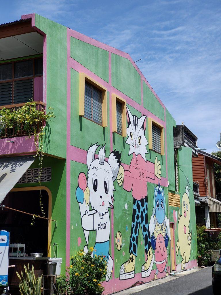 songkhla street art old town