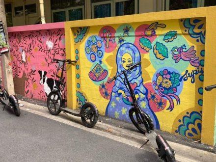 goscoot chinatown tour electric scooter bangkok