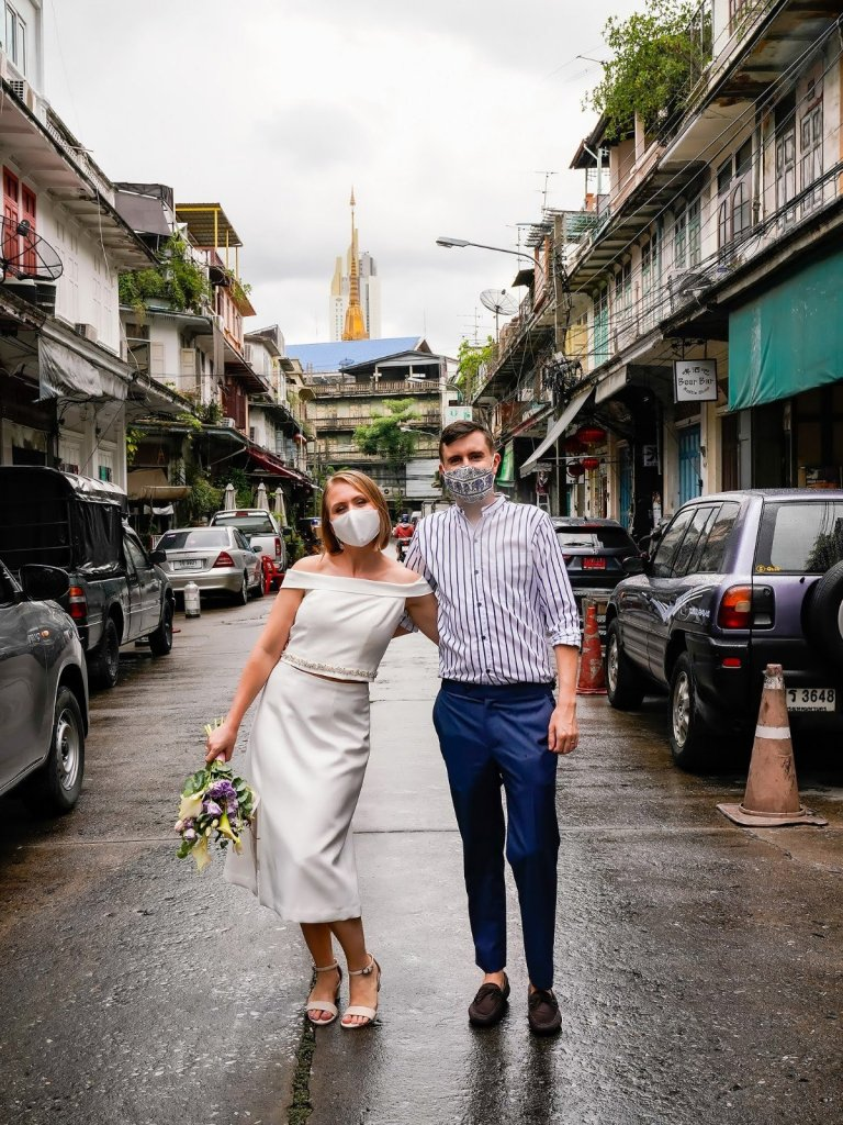 marriage ceremony thailand foreigner