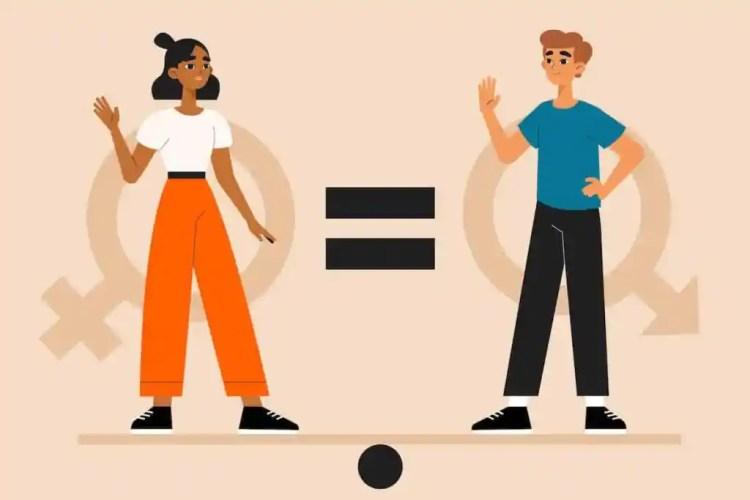 Gender not equal