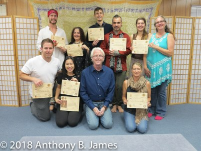 January 2018 SomaVeda® Thai Yoga Practitioner Certificate Class