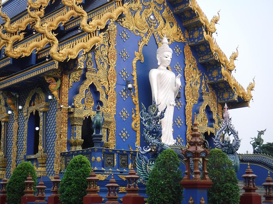 The Bluse Temple Chiangrai Thailand