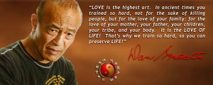 """Danny Inosanto """"Love is the highest"""""""