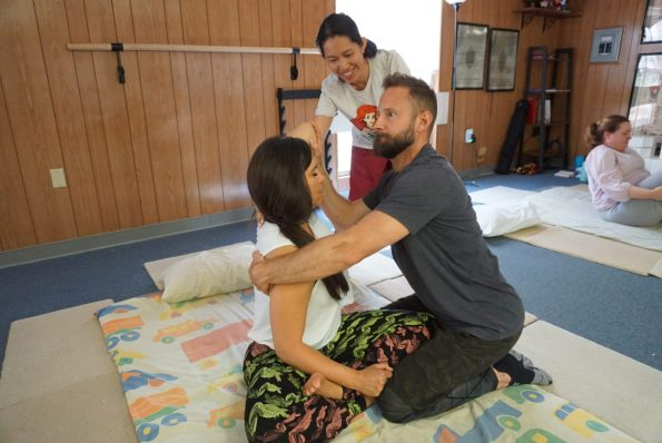 Khruu Noy Southivongrath teaches SomaVeda® Thai Yoga