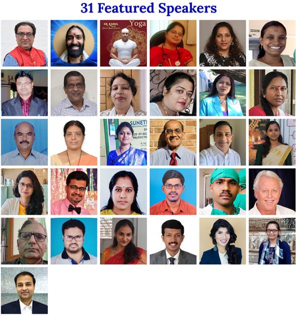 Dr. Anthony B. James Speaker World Ayurveda Day Conference Nov 2, 2021