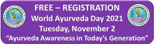 Free Registration World Ayurveda Day