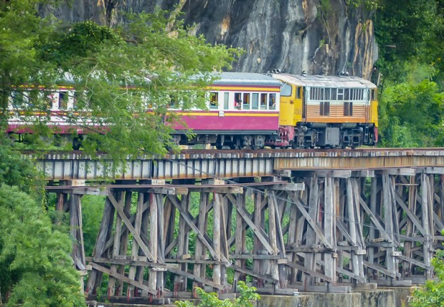 A journey on the Death Railway in Kanchanaburi, Thailand