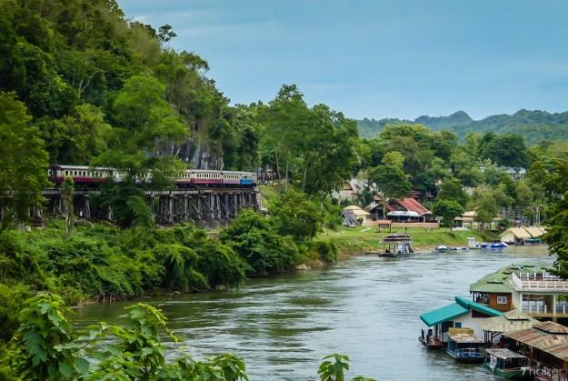 Thailand to Burma railway