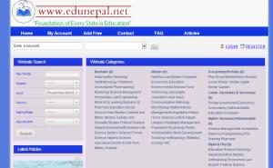 view of edunepal.net