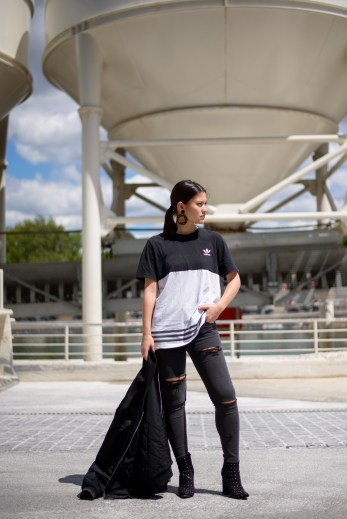 adidas missguided tenue fashion blogger blog mode14