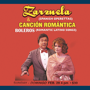 Concert of Latin Romantic Music with Hispanic Lyric Singers