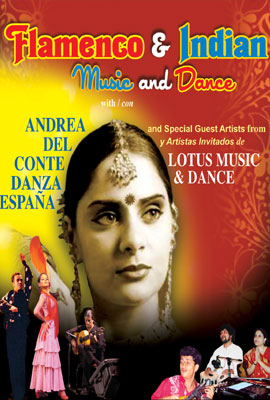 FLAMENCO & INDIAN MUSIC & DANCE