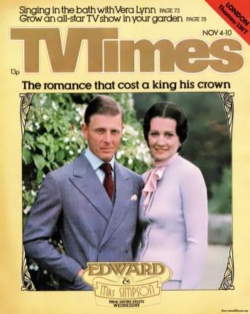 Edward and Mrs Simpson 4 November 1978