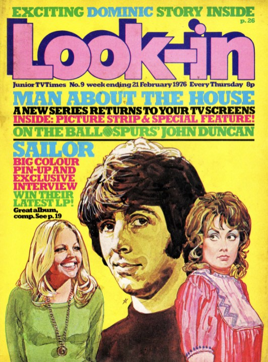 Look In - Man About the House 21 February 1976