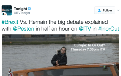 Robert Peston, ITV on Twitter
