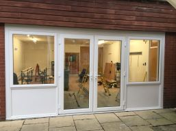 VEKA PVC French Door Complex