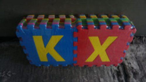 Thảm xốp ghép chữ ABC 30x30cm
