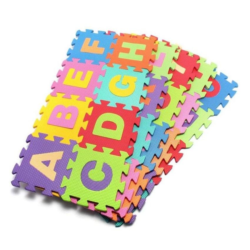 Thảm xốp ghép chữ ABC