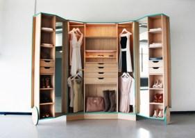Kleines Schlafzimmer Mit Begehbarem Kleiderschrank Einfach ...