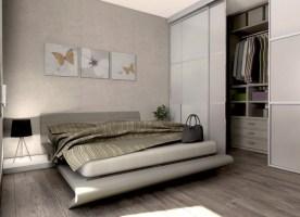 Kleines Schlafzimmer Mit Begehbarem Kleiderschrank Nett On ...