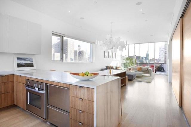 Küche Wohnzimmer Offen Klein Kreativ On Für Modernes Haus ...
