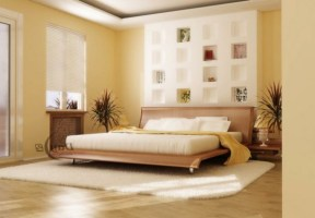 Schlafzimmer Wände Farblich Gestalten Braun Nett On ...