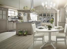 Küchen Weiss Landhausstil Modern Charmant On Beabsichtigt ...