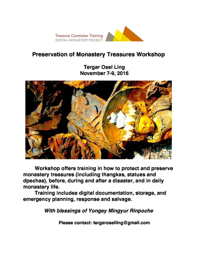 Tergar Workshop Invitation