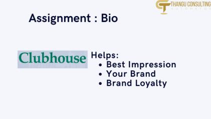 Assignment Thangu Business