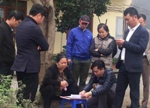 Dự án đầu tư xây dựng nút giao Nam cầu Bính: Bàn giao đất tái định cư cho 6 hộ dân 2 phường Trại Chuối, Sở Dầu